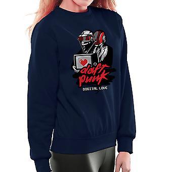 Daft Punk Digital Love Women's Sweatshirt