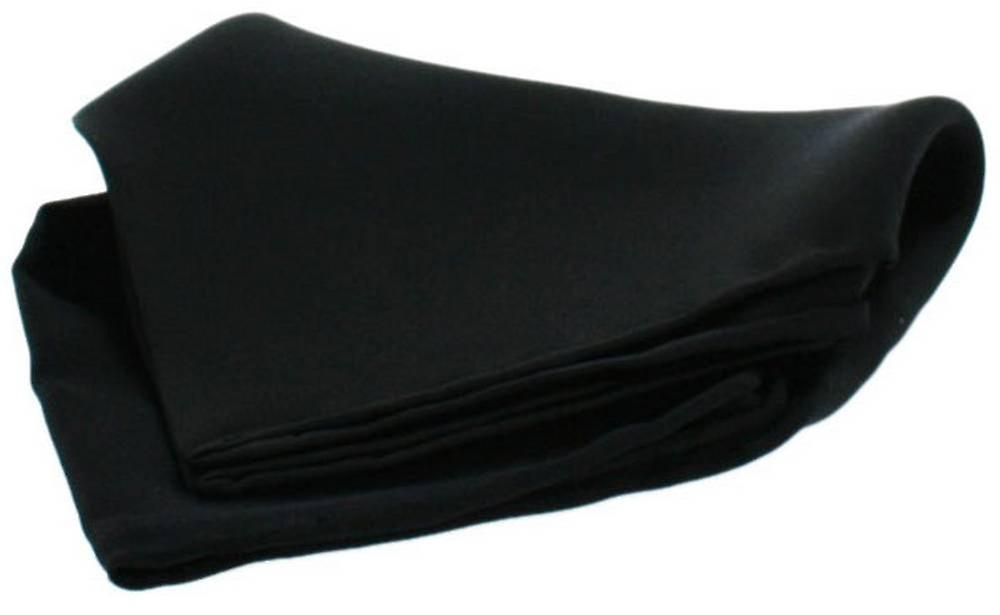 David Van Hagen Satin Silk Handkerchief - Black