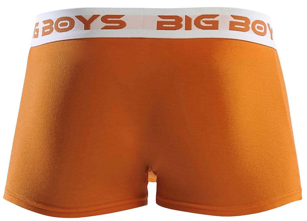 Big Boys Boxer Briefs - Orange