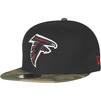 New era 9Fifty Snapback Cap - Atlanta Falcons black camo