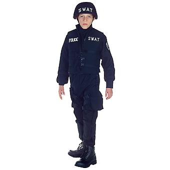 SWAT S.W.A.T. Military Police Cop Commander FBI Book Week Boys Costume