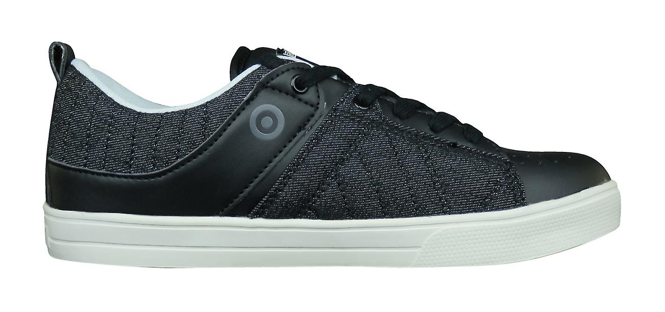 New Mens Denim Black Trainers Lambretta Casual Shoes EPqv8qd0w