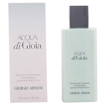 Armani Acqua Di Gioia Perfumed Body Lotion 200 Ml (Woman , Perfume , Gels and Lotions)