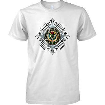 Licensed MOD -  British Army Scots Guards Insignia - Mens T Shirt