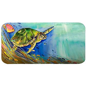 Loggerhead Sea Turtle Kitchen or Bath Mat Runner 28x58