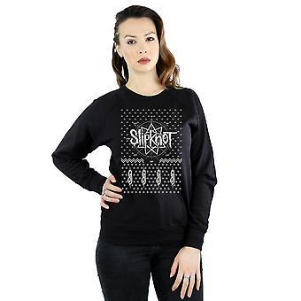 Slipknot Women's 9 Point Christmas Sweatshirt
