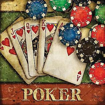Poker Poster Print by Mollie B (18 x 18)