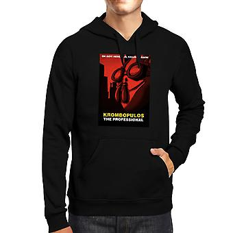 Rick And Morty Krombopulos The Professional Leon Mix Men's Hooded Sweatshirt