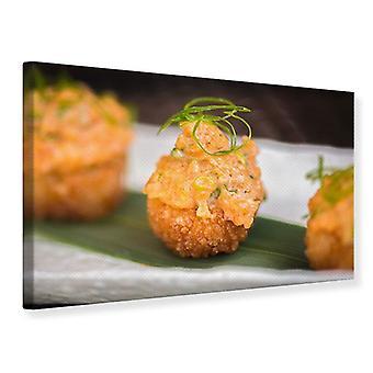 Canvas Print Asian Cuisine