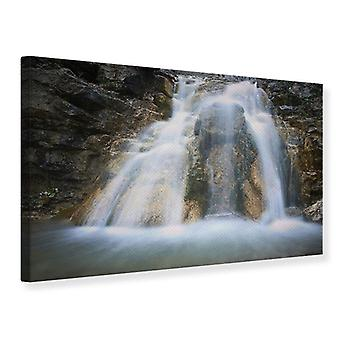 Canvas Print Impressive Waterfall
