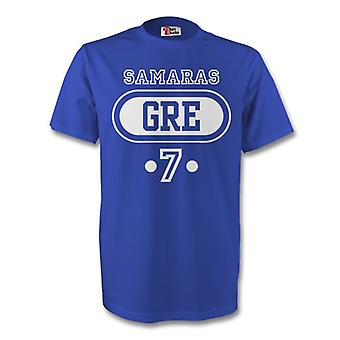 Georgio Samaras Greece Gre T-shirt (blue) - Kids