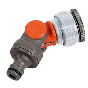 Gardena Angled Rotating Swivel Garden Tap Connector Adaptor 1