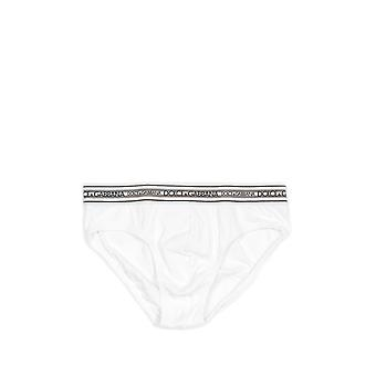 Dolce E Gabbana men's N3B46JFUGF5W0800 white cotton panties