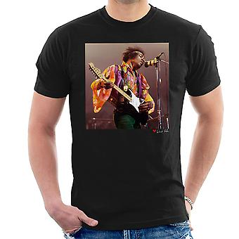 Jimi Hendrix At The Royal Albert Hall 1969 Alt Men's T-Shirt