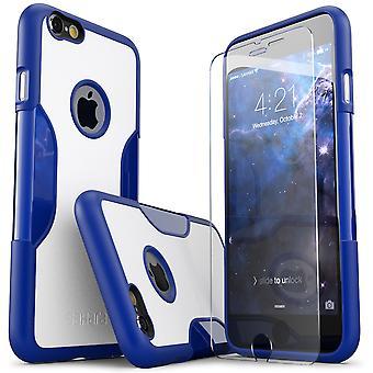 SaharaCase® iPhone 6/6s más noche cielo caso, clásico paquete Kit de protección con vidrio templado de ZeroDamage®