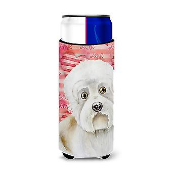 Dandie Dinmont Love Michelob Ultra Hugger for slim cans