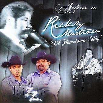 Inizzio - Adios en Ricky Martinez [CD] USA importerer