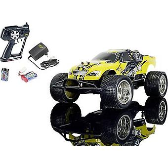 Carson Modellsport Rock Warrior Brushed 1:10 RC model car Electric Truggy RWD 100% RtR 2,4 GHz incl. batteries and charg