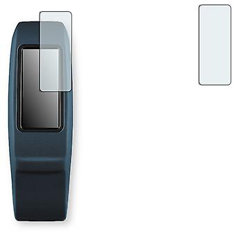 Garmin vivofit 2 screen protector - Golebo Semimatt protector (deliberately smaller than the display, as this is arched)