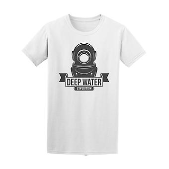 Deep Water Expedition Scuba Dive Tee Men's -Image by Shutterstock