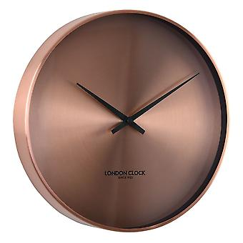 28cm Element CU Spun Copper Modern Metal Wall Clock