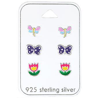 Butterfly - 925 Sterling Silver Sets - W30771X