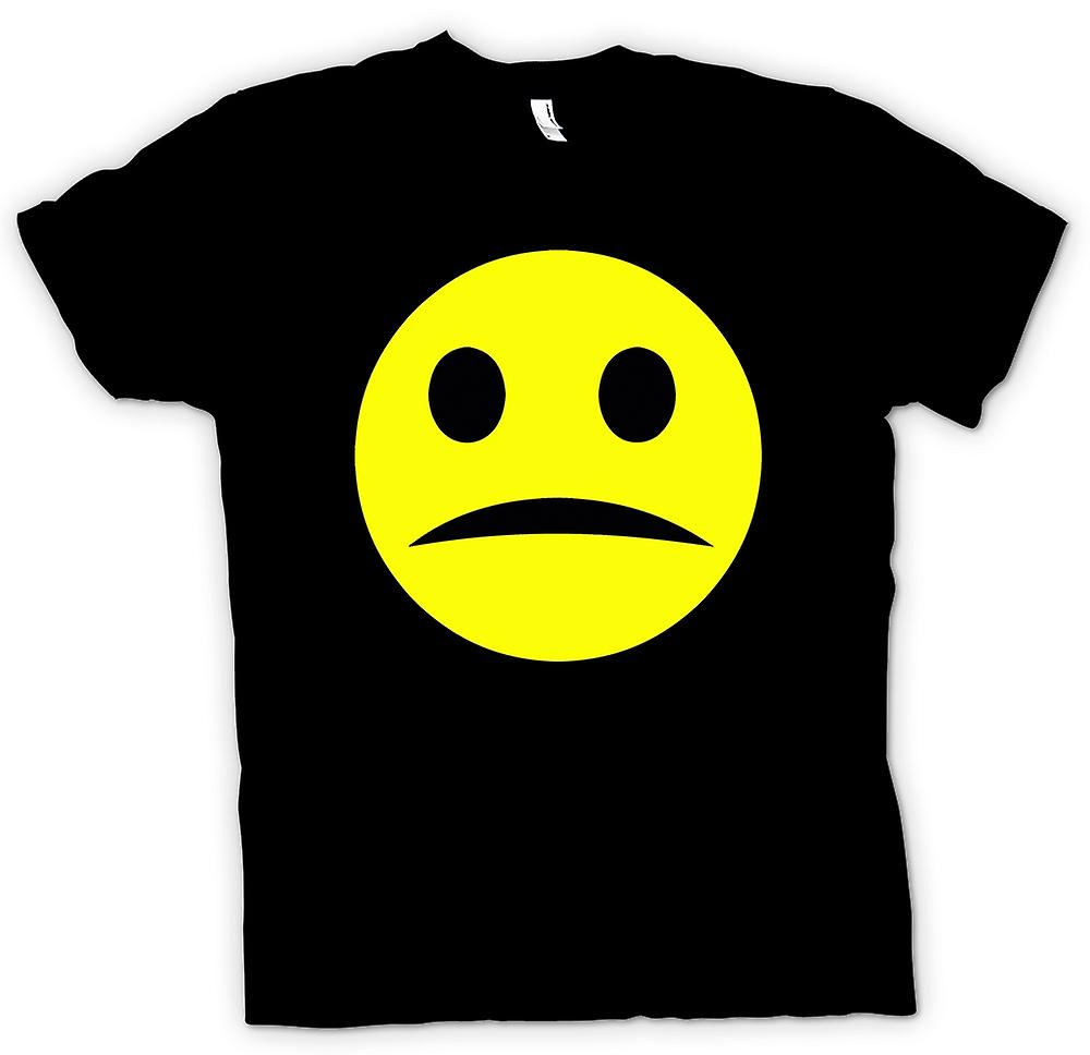 Mens T-shirt - Smiley Face - Acid House - Unhappy