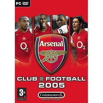 Club fotboll Arsenal 2005 (PC)