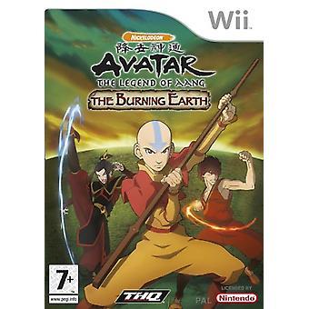 Avatar legenden om Aang - bränna jorden (Wii)