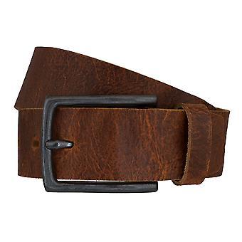 LLOYD mænds bælte bælter mænds bælter læder bælte Cognac 6608