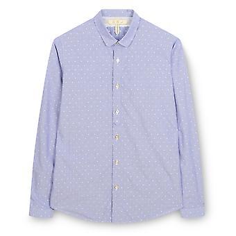 Fabio Giovanni Bussola Shirt - 100% Cotton Mens Italian Casual Shirt - Long Sleeve