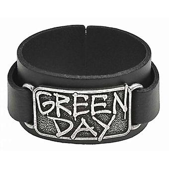 Green Day Wristband Band Logo American Idiot new Official Black
