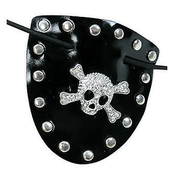 Eyepatch Blin bling skull skull skull pirate Corsair