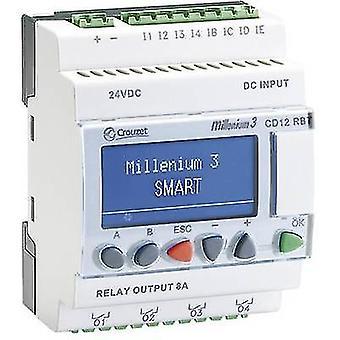 Regulador del PLC Crouzet CD12RBT 24V SMART 88974441 24 Vdc
