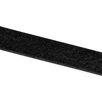 Hook-and-loop tape stick-on Hook pad (L x W) 25000 mm x 20 mm Bl