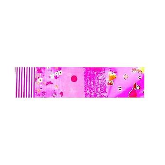 SALE -  5 Pink Coordinated Decopatch Paper Sheets | Decoupage Crafts