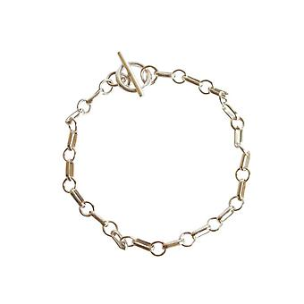 Gemshine - ladies - unisex - bracelet - solid 925 Silver - 19 cm