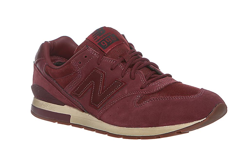 New balance 996 mens classic leather sneaker Red