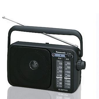 Panasonic RF2400 Portable 2 Band AM/FM Radio - Black