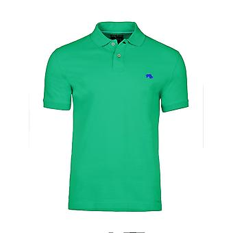 Muscle Fit Plain Polo - Green