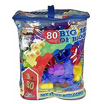 Grafix Big Bag of Blocks 80 Piece