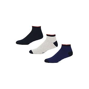 New Designer Mens Pepe Jeans Trainer Liner Socks Seth Gift Set