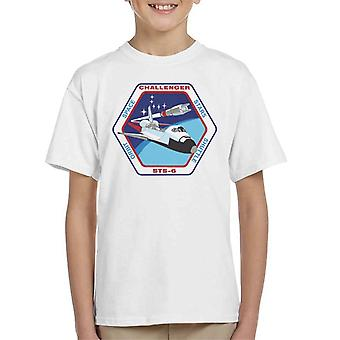 NASA STS 6 Space Shuttle Challenger Mission Patch Kid's T-Shirt