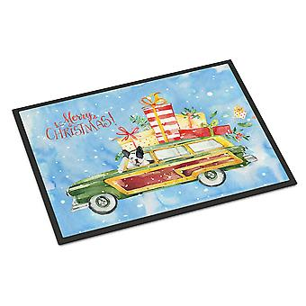 Merry Christmas French Bulldog Indoor or Outdoor Mat 18x27