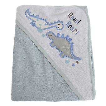 Snuggle Baby Baby Boys Dinosaur Hooded Towel