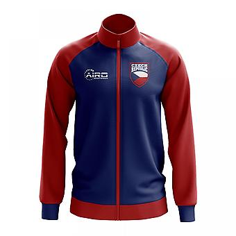 Czech Republic Concept Football Track Jacket (Blue)