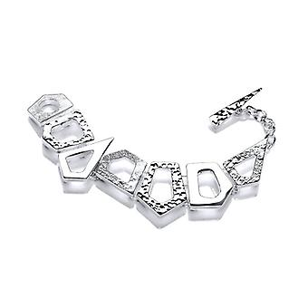 Cavendish Franse geometrische hemel Zilveren armband