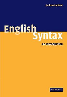 English Syntax An Introduction by Radford & Andrew