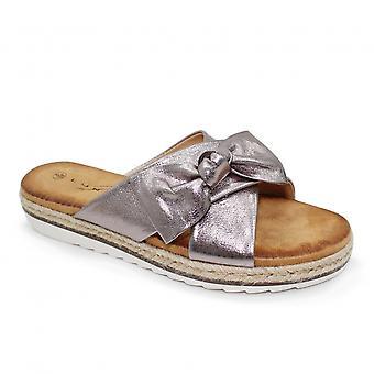Lunar Rico Double Strap Bow Sandal CLEARANCE