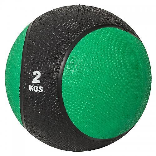 M�decine ball 2kg vert/noir
